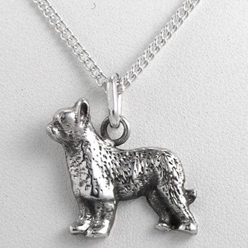 - Fine Arf Briard Charm Necklace