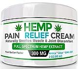 Organic Hemp Pain Relief Cream – 300 Mg – Made in USA