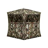 Barronett Blinds Grounder 250 2 Person Hub Blind, Woodland Camo