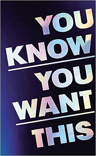Como Descargar Libro Gratis You Know You Want This Novedades PDF Gratis
