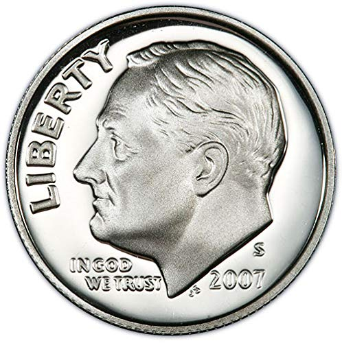 (2007 S Clad Proof Roosevelt Dime Choice Uncirculated US Mint)