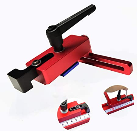 Type 45 bois Limiteur pour 45mm T-Slot T-pistes Boiseries Bricolage Outils Manuels Mitre Track Stop