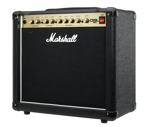 Marshall DSL15C DSL Series 15-Watt Guitar Combo Amp