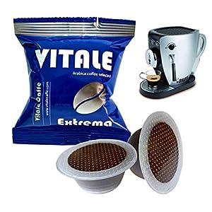 150 Capsule Vitale Caffè EXTREMA compatibili BIALETTI macchina cialde caffè