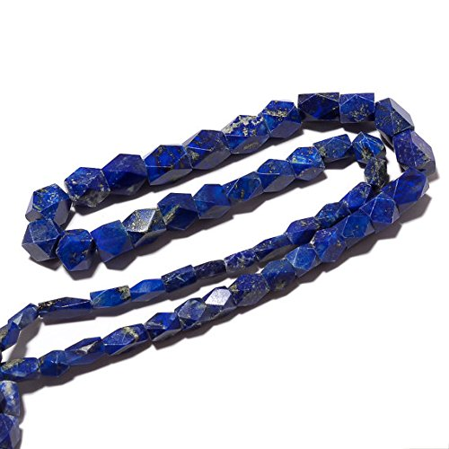 Lapis Lblui Beads, rosa Cut BArrel Beads, Faceted Lapis Beads, 7mm To 10mm Beads, 18 Inch Strand