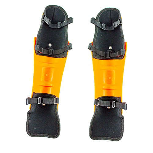 Everest Chainsaw Knee Guard Protective Gear by using Buckle Orange Reviews