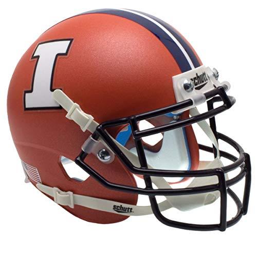 (NCAA Illinois Illini Unisex NCAA Illinois Illini Replica XP Football Helmetncaa Illinois Fighting Illini Replica XP Football Helmet, Orange Alt, One Size)