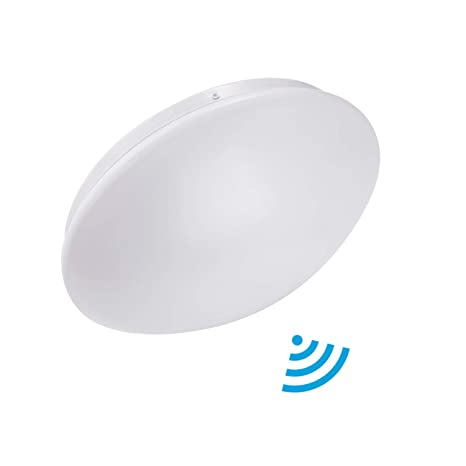 Lineway Plafón con Sensor de Movimiento para Baño LED Luz de ...
