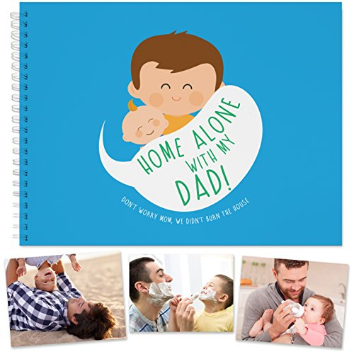 Dad To Be Memory Book: Activit Book For Daddy and Baby When They Are Home Alone. Fatherhood, Best Father's Day Gift, Presents For Dad With Son or Daughter, Baby's Journal, Dad Life, baby girl and boy. (Me And Him Or Him And Me Grammar)