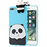 For IPhone 7 4.7 Inch/Plus 5.5 Inch Case Sinfu Cartoon Animal Bears Soft Silicone Protective Cover (IPhone 7 Plus 5.5 Inch, A)