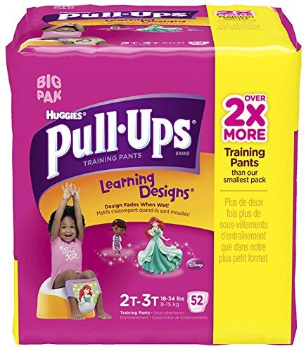 Huggies Pull-Ups Training Pants - Learning Designs - Girls - 2T-3T - 52 ct
