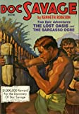 The Lost Oasis/The Sargasso Ogre (Doc Savage (Nostalgia Ventures))