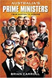 img - for Australia's Prime Ministers: From Barton to Howard book / textbook / text book