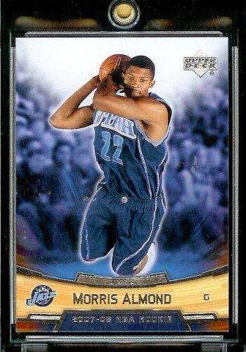 2007-08 (2008) Upper Deck Rookie Box Set # 2 Morris Almond (RC) - Jazz NBA Rookie Trading Card