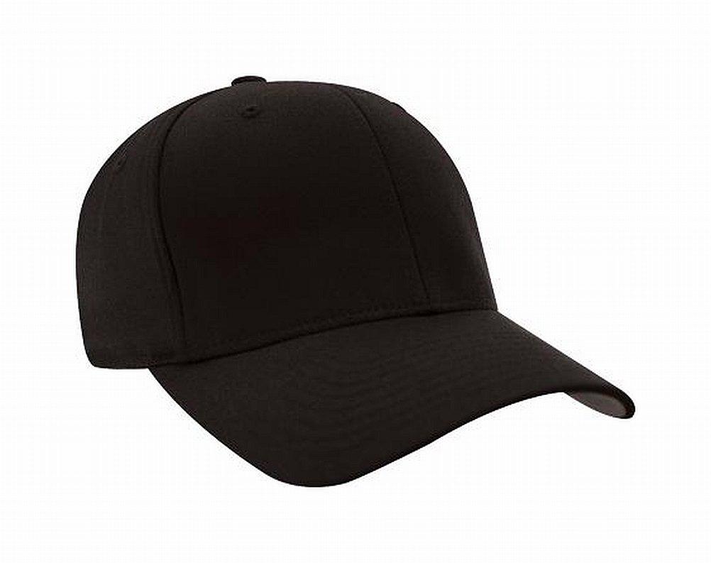 Flexfit Premium Original Wooly Combed Twill Youth Cap 6277Y (Black)