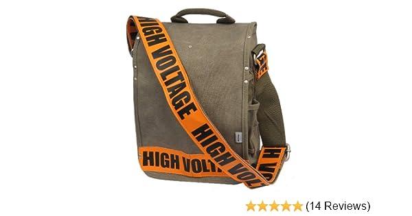 6bcf39ac35d Amazon.com  Ducti High Voltage Utility Messenger Bag, Orange  Sports    Outdoors