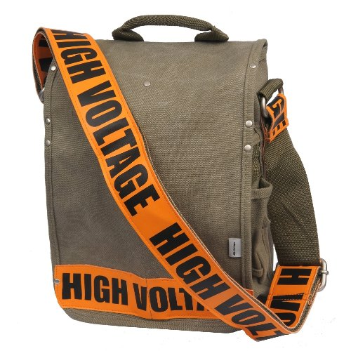 b25be345dfd Amazon.com  Ducti High Voltage Utility Messenger Bag, Orange  Sports ...