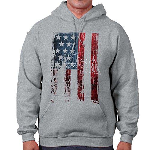 United States Flag Stars Stripes Patriotic Hoodie (Star Flag Shirt)