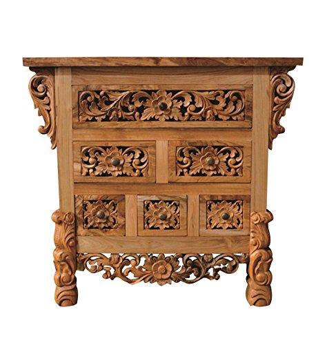 NES Furniture Nes Fine Handcrafted Furniture Solid Teak Wood Lily Sideboard Buffet / Dresser - 36