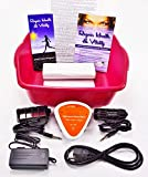 Ion Ionic Detox Foot Bath Spa Chi Cleanse Unit for Home Use With 2 Super Duty Arrays and Free Extras!