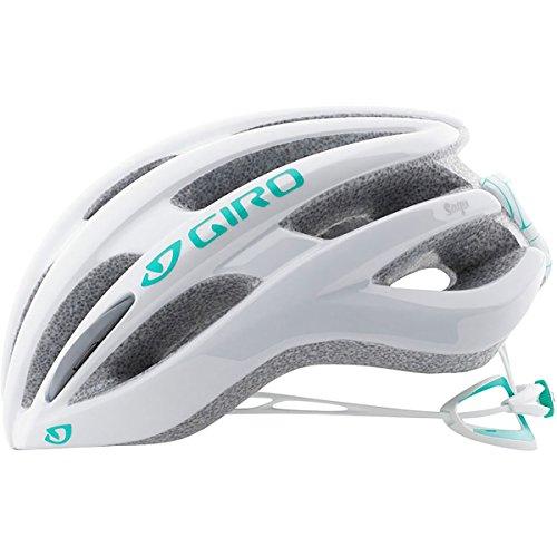 Giro Saga Helmet - Women's White/Pearl (Pearl White Bike Helmet)