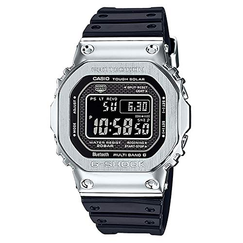 G-Shock Men's GMW-B5000-1CR Black/Silver One Size