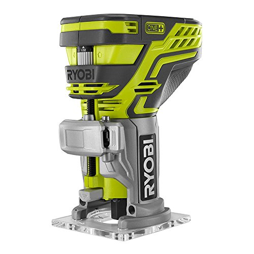 Ryobi P601 One 18V Lithium Ion Cordless Fixed Base Trim Router Battery Not Included Tool Only