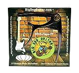 Premium Black Metal Tungsten Finish Guitar Capo By BigDogGuitar, Stays in Tune, Comes with Bonus Picks and VIP Membership - For Acoustic Guitars and Electric Guitars