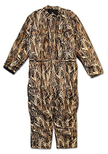 Big Mens Waterfowl Camo Waterproof Breathable Insulated Coverall (CAMOFLAUGE 5X)