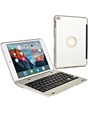 Cooper Kai SKEL P1 Bluetooth QWERTY Wireless Keyboard Case Compatible with iPad Pro/Mini/Air | Hard Clamshell Carrying Case Cover