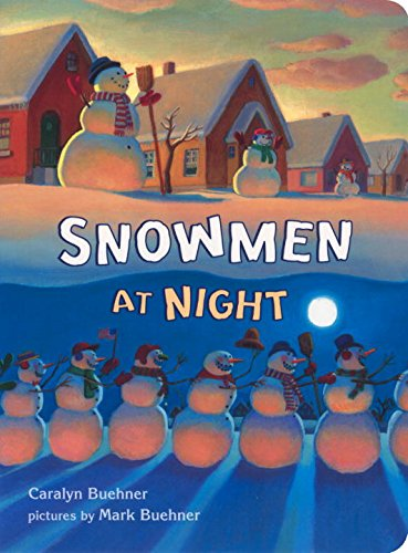 Snowmen at Night book for kids
