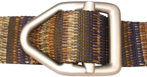 Bison Designs 38mm Wide Light Duty Belt with Gunmetal Buckle (Coyote, 38-Inch Maximum Waist/Medium)