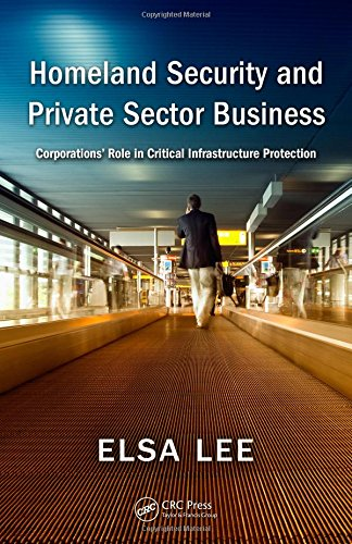 Homeland Security and Private Sector Business: Corporations' Role in Critical Infrastructure Protection by Brand: Auerbach Publications