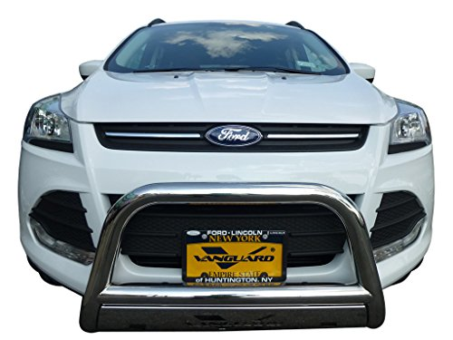 VANGUARD VGUBG-0982SS 2013-2018 Ford Escape Bull Bar With Skid Plate S/S - Ford Skid Plate