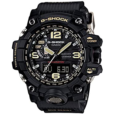 Casio GWG-1000-1AJF G-SHOCK Mudmaster Men's Watch, Japan Import