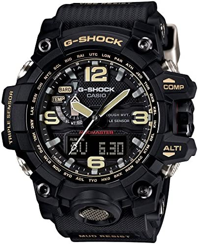 Casio G-Shock Mudmaster Mens Watch Black