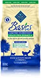 BLUE Basics Limited Ingredient Diet Grain Free, Natural Indoor Adult Dry Cat Food, Duck & Potato 5-lb