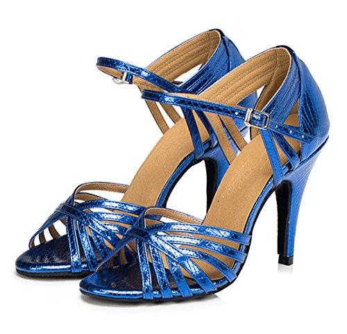 TDA - Zapatos con tacón mujer 8.5cm Heel Blue