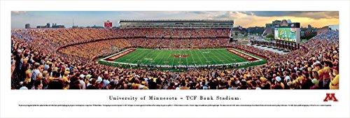 Minnesota Football   Blakeway Panoramas Unframed College Sports Posters