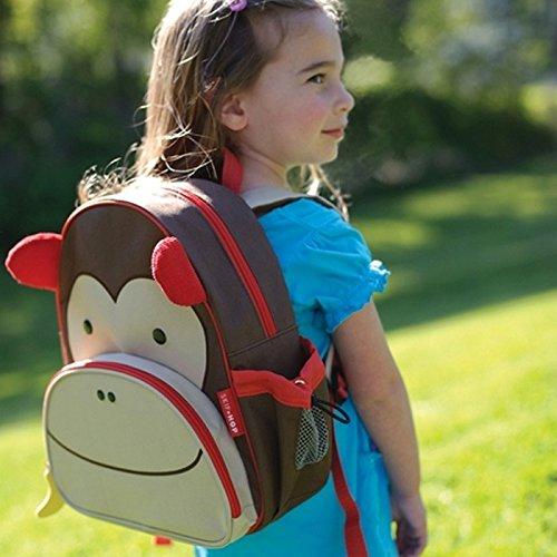 Zoo Toddler Backpack Marshall Monkey, 12'' School Bag, by Skip Hop (Image #6)
