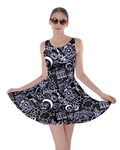 Harry Potter Dress - CowCow Womens Morty Dark Skater Dress,