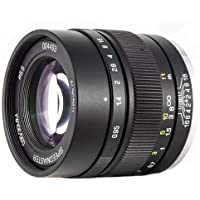 Mitakon Zhongyi Speedmaster 35mm f/0.95 Mark II Lens for Fuji X Mirrorless Cameras - Black