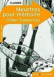 Meurtres Pour Mémoire - Didier Daeninckx *pnf*