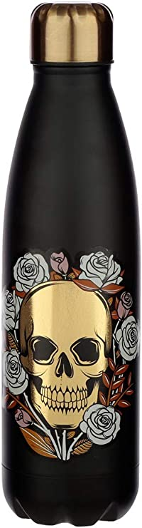 Skulls and Roses Union Jack 500ml Water Bottle