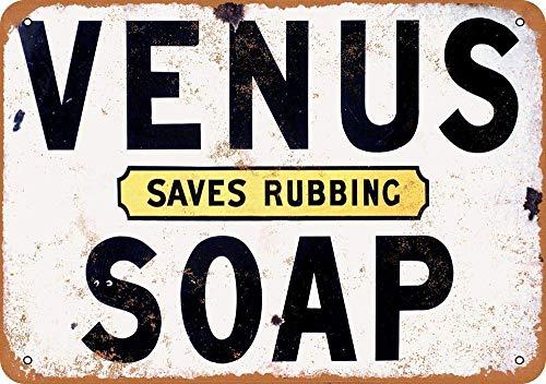 金星は摩擦石鹸を節約する 金属板ブリキ看板注意サイン情報サイン金属安全サイン警告サイン表示パネル