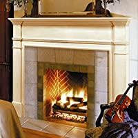 Pearl Mantels Windsor Wood Fireplace Man...