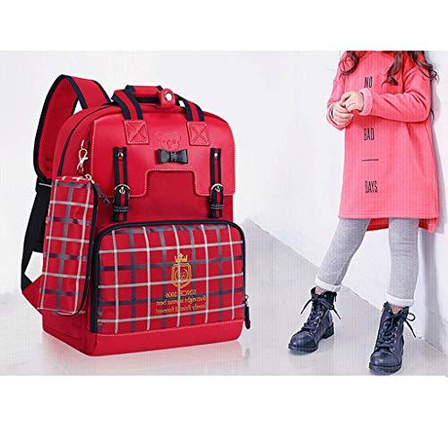 Dei In Scuola Zaino Leggero Bambini Nylon Per Red rIg5qRg