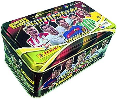 Liga BBVA - Caja metálica Tin Box Adrenalyn 2015/2016, (Panini 003127TINE): Amazon.es: Juguetes y juegos
