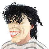 Magic3org Halloween Easter Michael Jackson Immitation Mask for Party Cool for Adualt and Kids Large Size