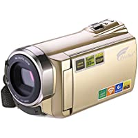 Hausbell HDV-5052 1920x1080p Digital Camcorder with Infrared Night Vision (Golden)